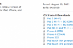 iOS 5 beta 6 seeded to Apple developers