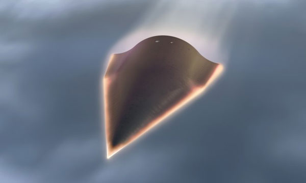 Video of DARPA's failed second HTV-2 flight surfaces