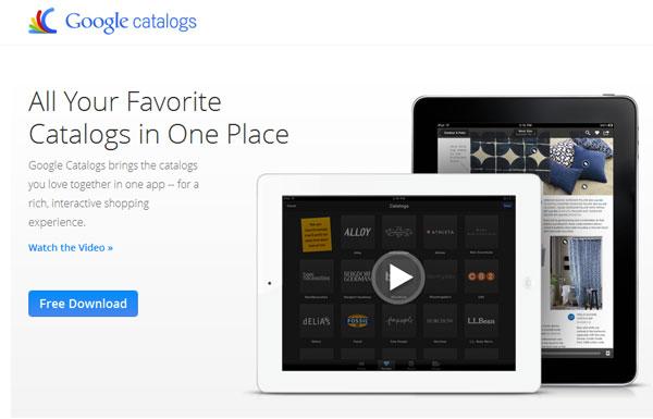 Google Unveils Google Catalogs