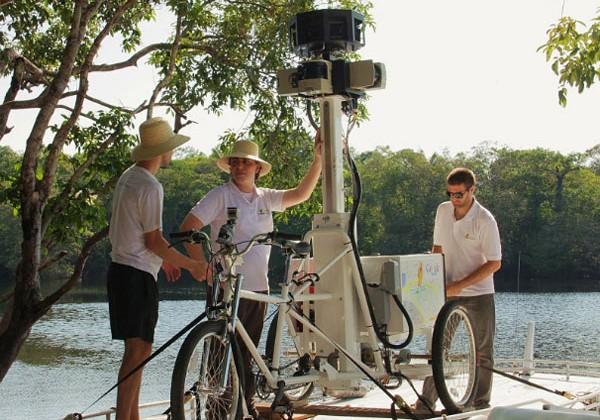 Google sends Street View trikes down Amazon and Rio Negro rivers