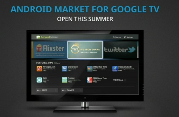 Google TV with Android Market getting close, SDK add-on preview available now