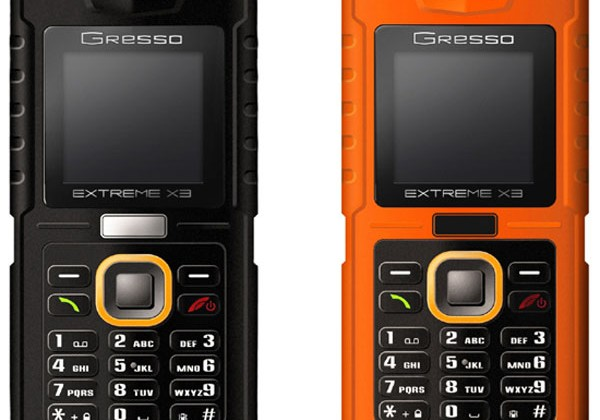 Gresso shows off extremely rugged mobile phone