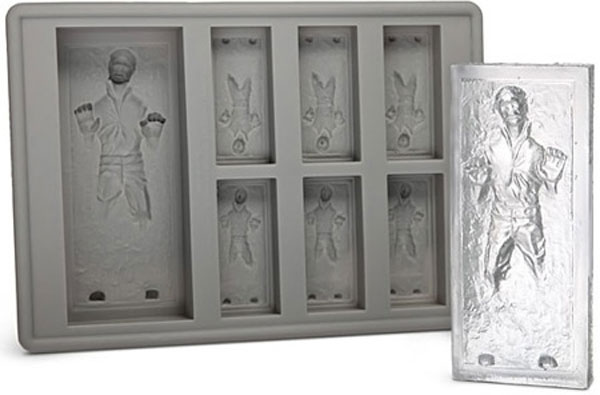 If Jaba lived on Hoth, he would rock the Han Solo carbonite ice tray