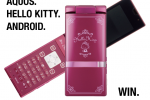 SoftBank 007SH KT Hello Kitty Android Gingerbread Phone For The Win