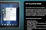 HP outs new 64GB TouchPad tablet with white case option, not for America