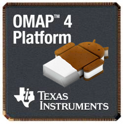 Android Ice Cream Sandwich and Texas Instruments Collaboration Promised for Fall Rollout
