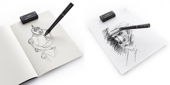 Wacom Inkling converts ink drawings to digital