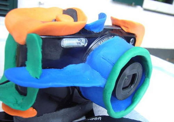 DIY kid camera can survive drops and bumps