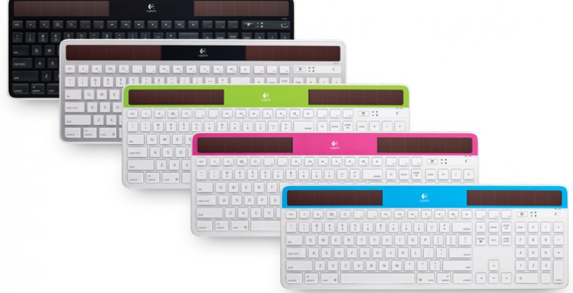 Logitech Wireless Solar Keyboard for Mac caters to OS X