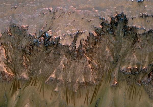 NASA Mars Reconnaissance orbiter finds new evidence of liquid water on Mars