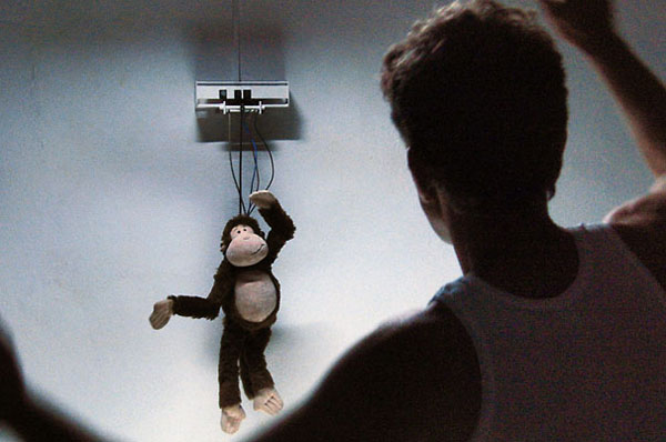 Kinect hack makes monkey toy dance into your nightmares