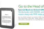 NOOK Back-To-School Sale Offers $100 Worth Of Free Books, Study Guides