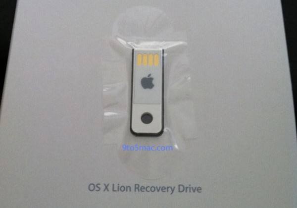 Apple prepping official OS X Lion Recovery Drive