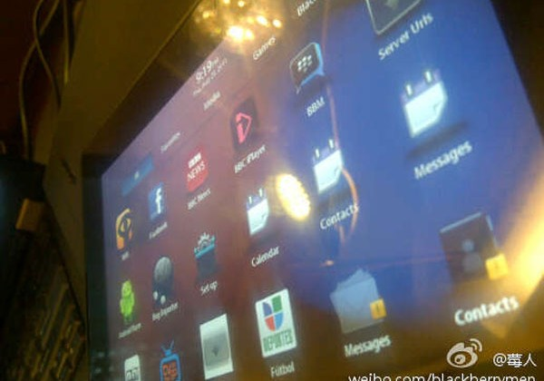 Blackberry PlayBook OS 2.0 leaks and has Exchange ActiveSync but no BES or BB Internet Server accounts