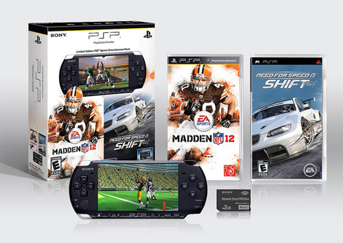 Sony To Offer PSP Bundle With Madden NFL 12 And Need For Speed Shift
