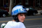 R2D2 helmet protects your cranium in geek style