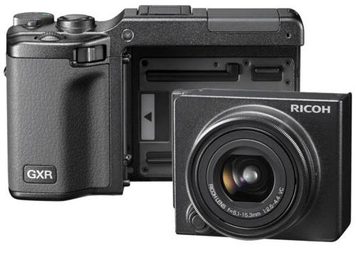 Ricoh GXR Module Lets You Swap Leica Lenses