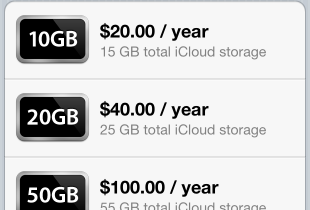iCloud Pricing Details Leak For 10GB, 20GB, And 50GB Extra Storage Options