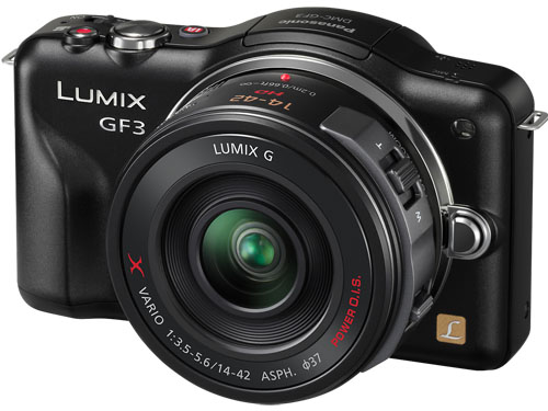 Panasonic LUMIX GF3X Official: a full 14-42 kit upgrade from earlier July release