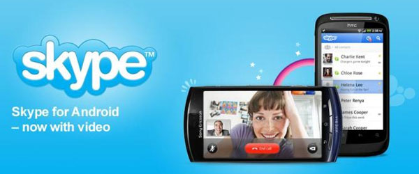 Skype app for Android updated for video calling on more smartphones