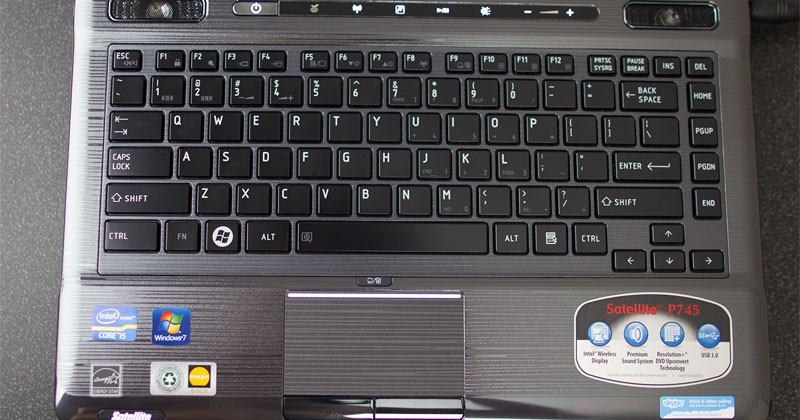 Toshiba Satellite P745-S4250 Review
