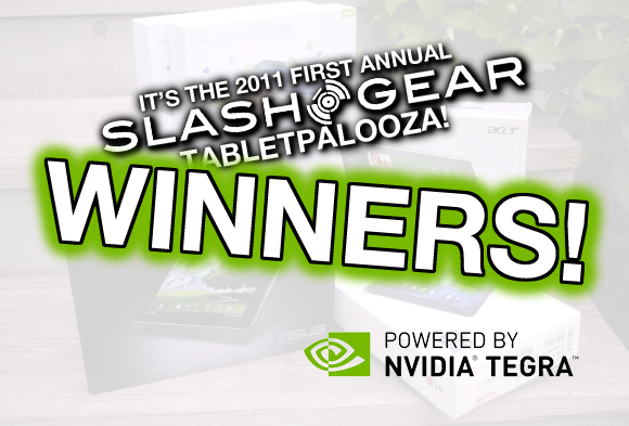 SlashGear Acer Iconia A500 Tabletpalooza Giveaway Winner Announced!