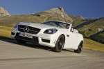 Mercedes shows off new 2012 SLK55 AMG