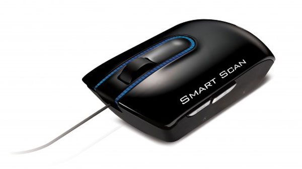 LG LSM-100 mouse is also a scanner