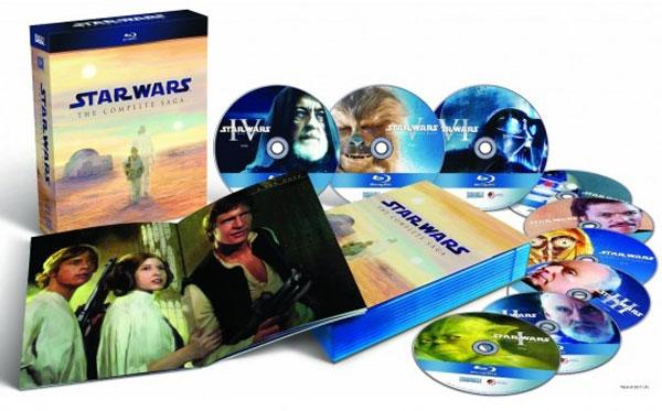 Star Wars Blu-ray films get tweaks and new surprises
