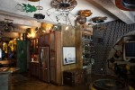 Awesome steampunk apartment available in NYC