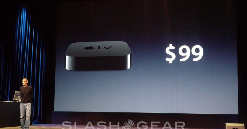 How will Steve Jobs' resignation affect the Apple TV?