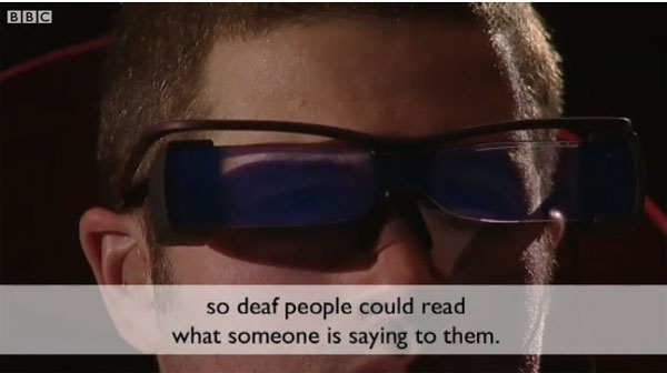New cinema glasses breakthrough will let the deaf watch films with no subtitles