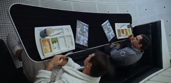 Tablet Computer Spotted in 1968 Kubrick Classic, Cited in Samsung Case