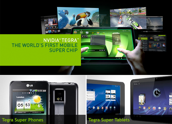 2011 The Year of NVIDIA dominating Android Superphones and tablets