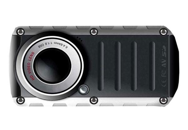 Vivatar 690 HD underwater digital pocket video camera surfaces