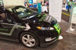 Chevy Volt Evatran Plugless Power charging shown off