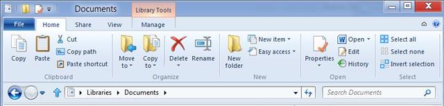Microsoft details new Windows 8 File Explorer UI