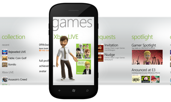 Windows Phone Getting New Xbox LIVE Features And Games