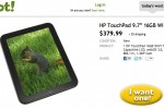 HP TouchPad hits Woot with $120 discount