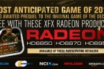 XFX announces Deus Ex Human Revolution Radeon video card bundles