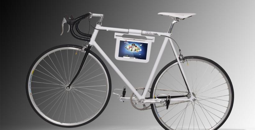 Samsung custom bike wants to take your Tab 10.1 tandem