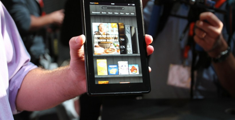 Amazon Kindle Fire eyes-on [Video]