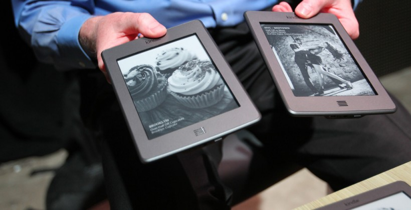 Kindle Touch 3G hands-on