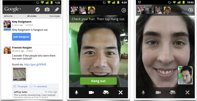 Google Updates Hangouts to full Phone and Broadcast functionality