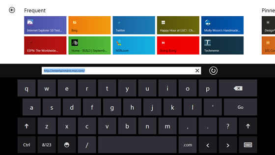 Internet Explorer 10 on Windows 8 gets detailed with platform preview 3