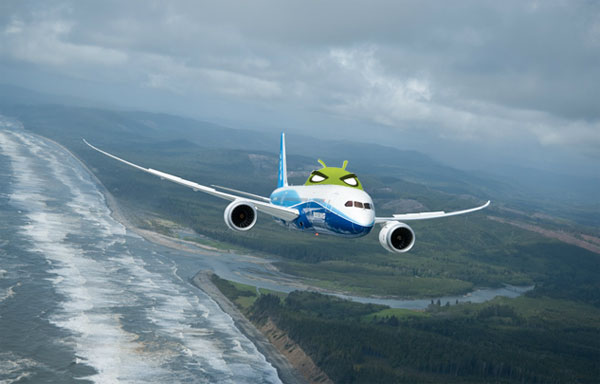 Boeing to use Android for in-flight entertainment systems on 787 Dreamliner