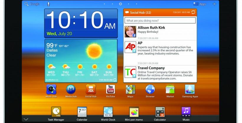 Samsung announces Galaxy Tab 8.9, Galaxy Player 4.0 and 5.0