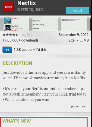 Netflix now supports all Android 2 2 and 2 3 devices - SlashGear