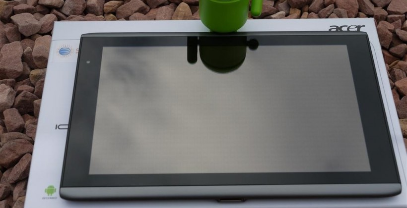ACER Iconia Tab A501 with AT&T 4G hands-on