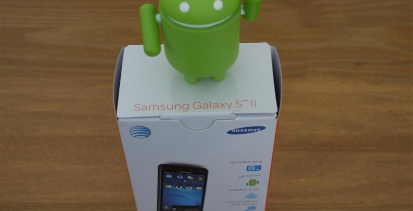 Samsung Galaxy S II Hands-on [AT&T]
